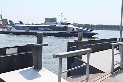 ロッテルダムの水上バス