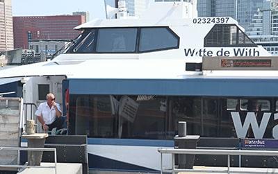ロッテルダムのウォーターバス