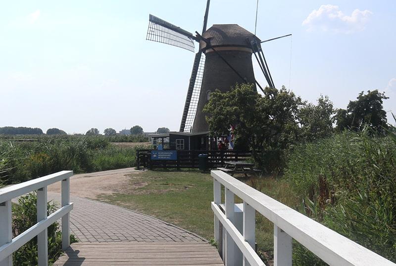 キンデルダイクの風車博物館