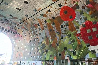 マルクトハルの壁画