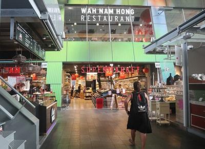 マルクトハルのアジア食品スーパー