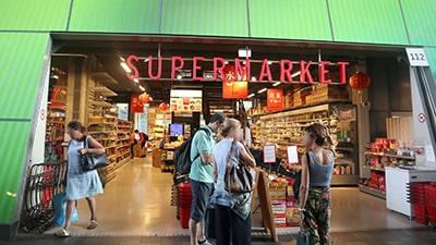 マルクトハルのアジア食品店