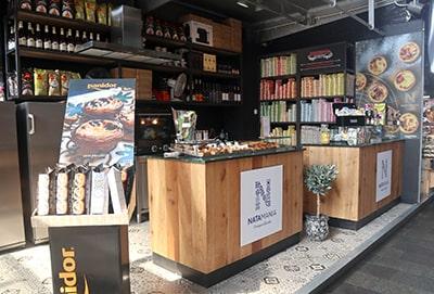 マルクトハルのポルトガル菓子店