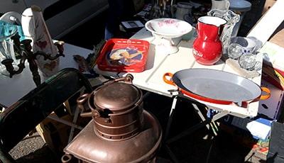リエージュの蚤の市キッチン用品