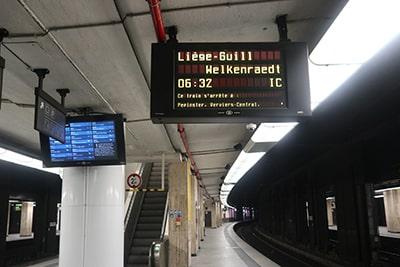 ブリュッセル~リエージュのIC