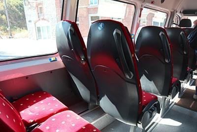 デュルビュイのシャトルバス
