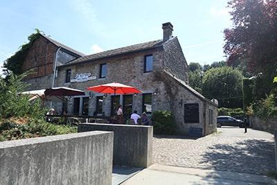 デュルビュイの地ビールが有名なレストラン