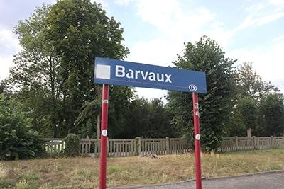 バルヴォーBarvaux駅