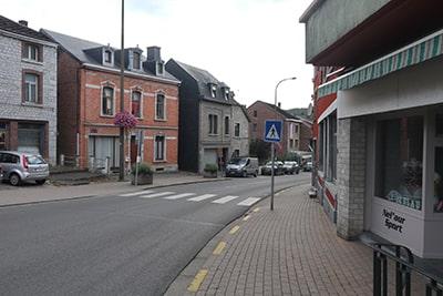 ベルギー・バルヴォーの町並み
