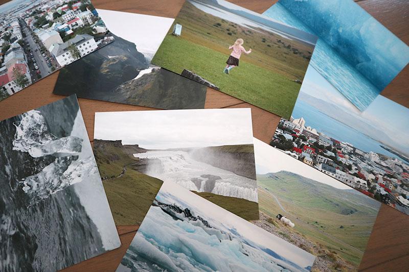 アイスランドの旅行写真
