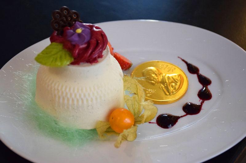 ノーベル博物館の晩餐会アイス