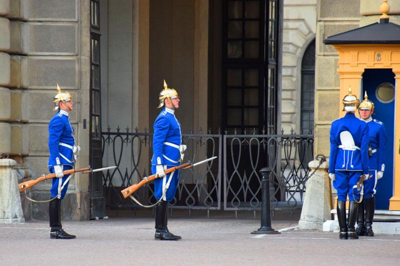 スウェーデン衛兵交替式