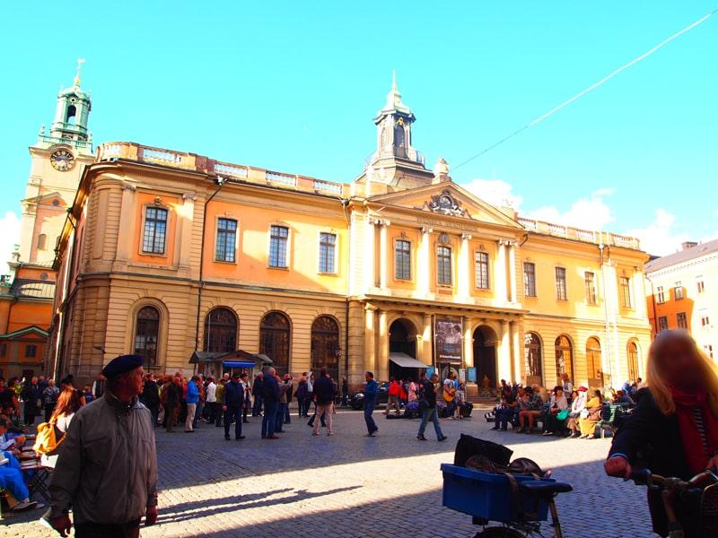 旧市街ガムラスタン大広場