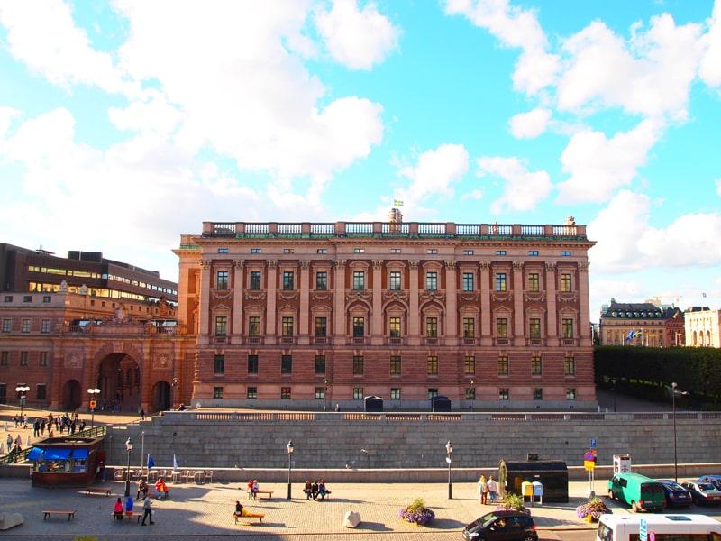スウェーデン国会議事堂