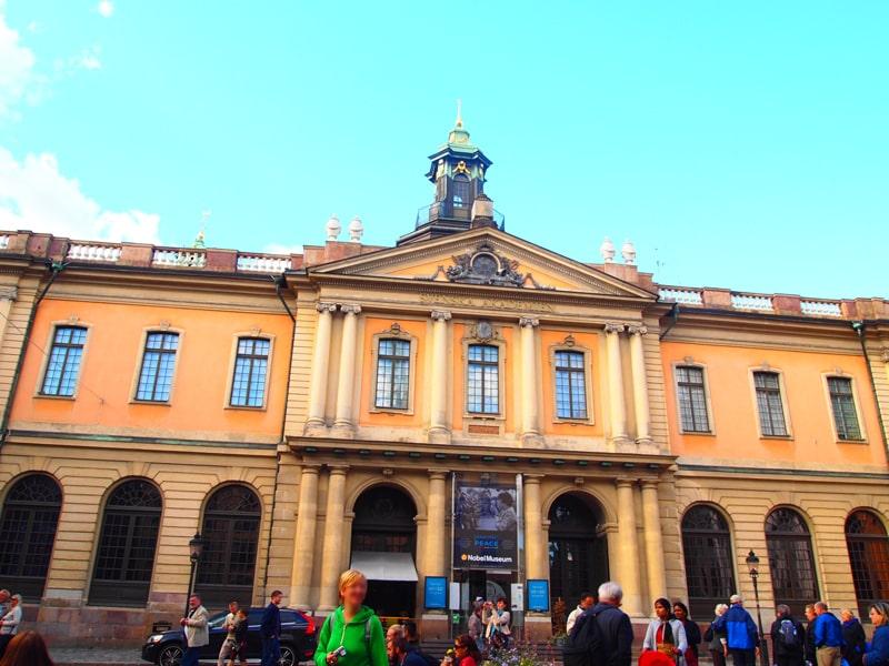 ストックホルムノーベル博物館
