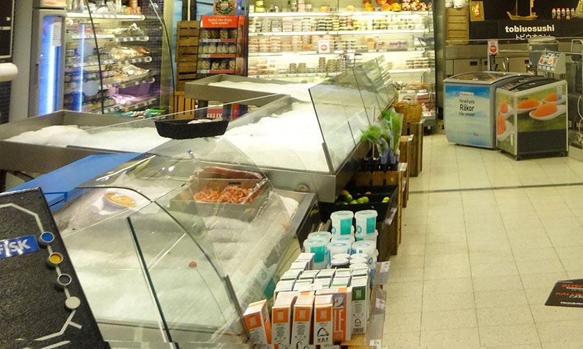 ストックホルムのスーパー