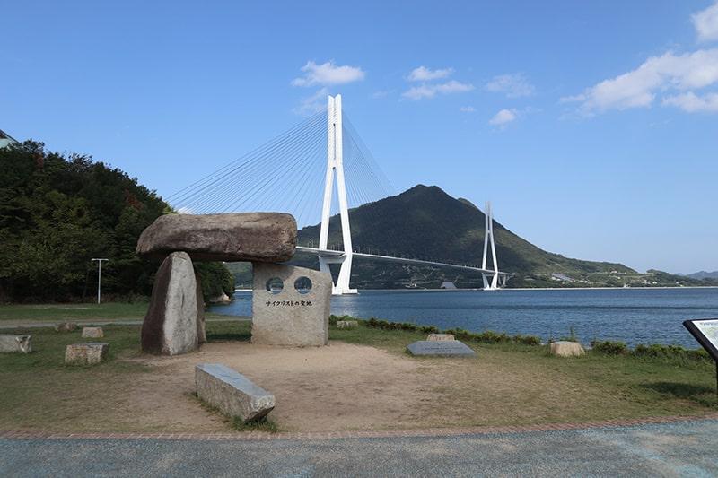 サイクリストの聖地碑