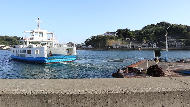 尾道の渡船風景