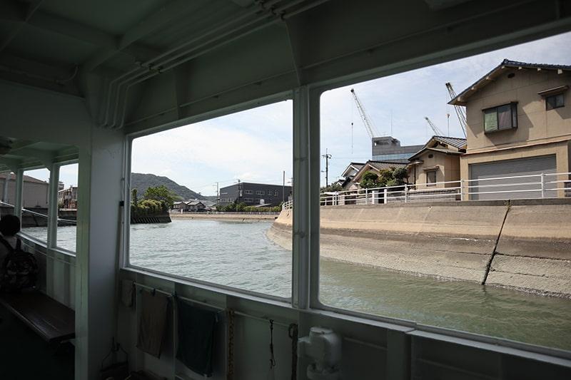 尾道駅前渡船