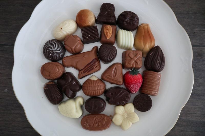 ブルージュのチョコレートショップDUMON