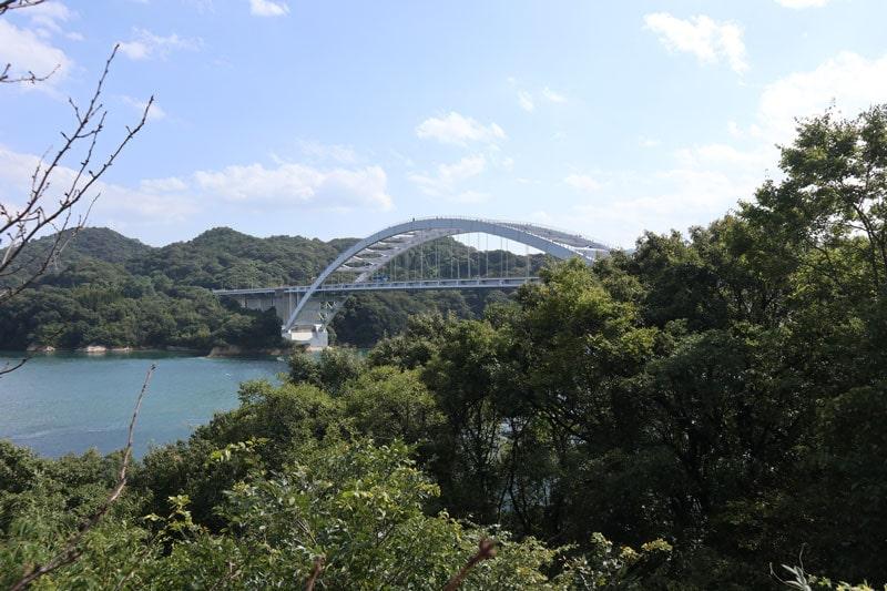 しまなみ海道サイクリング大三島橋