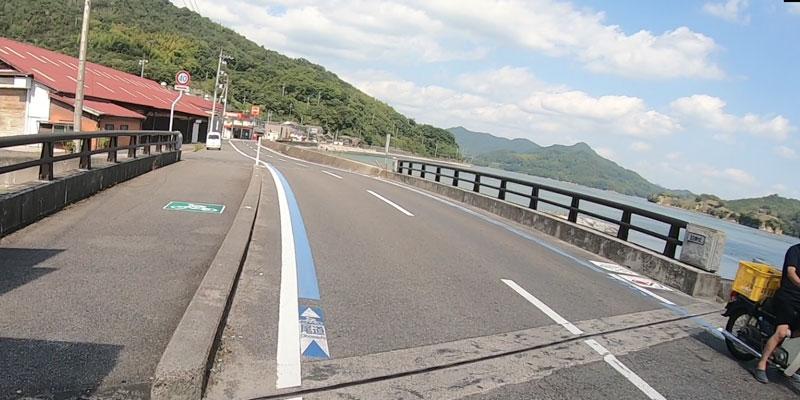 しまなみ海道サイクリング大島