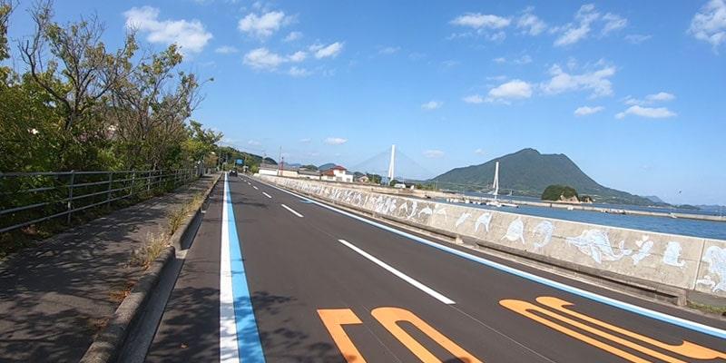 しまなみ海道サイクリング大三島