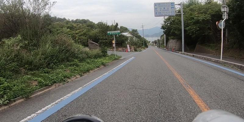 因島大橋からアメニティ公園へ