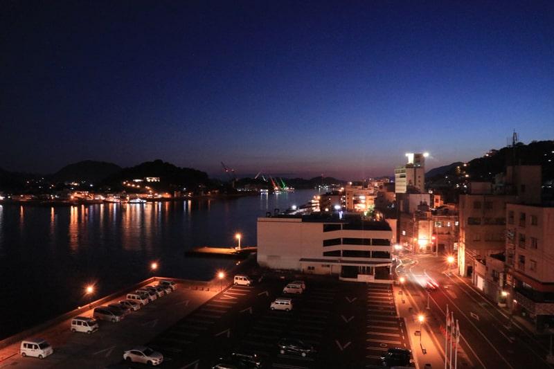尾道市役所からの夜景