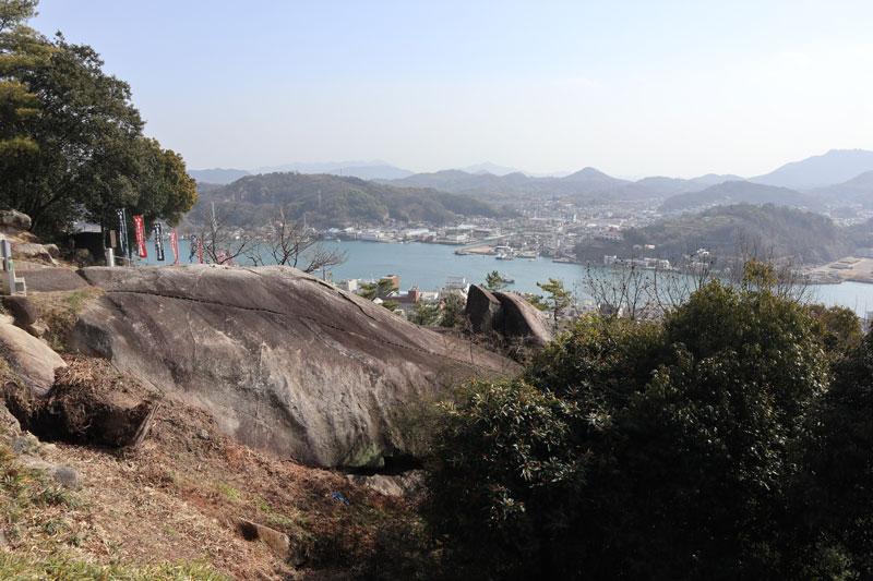 千光寺鼓岩