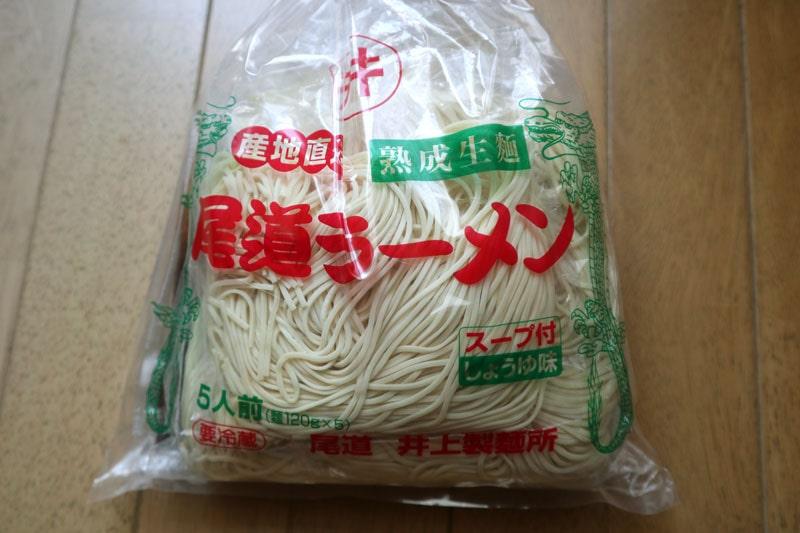 井上製麺所の尾道ラーメン