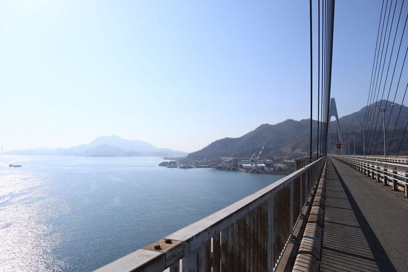 生口橋から見る生口島