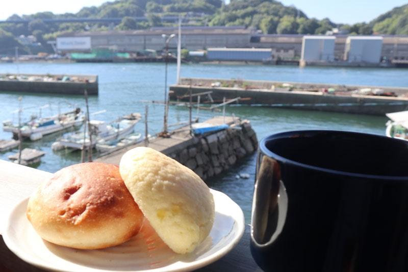 尾道で朝食
